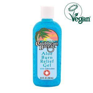 Caribbean Breeze After Sun Aloe Burn Relief Gel With Lidocaine 250ml