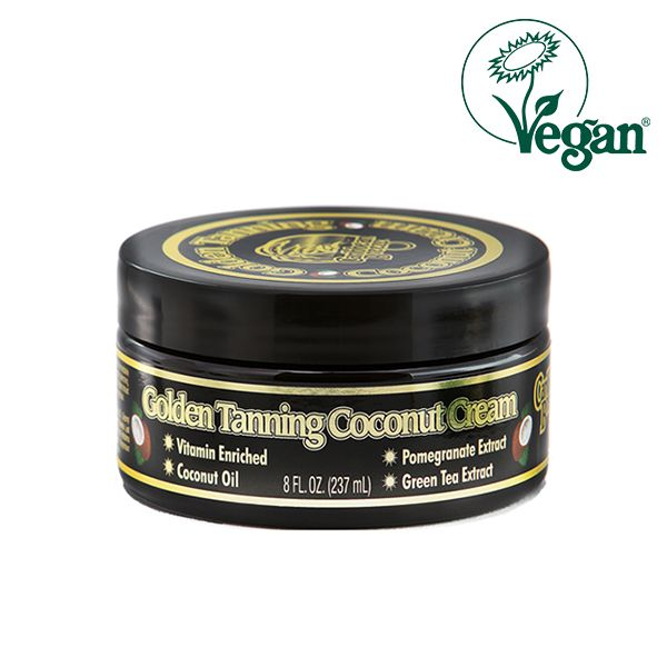 Caribbean Breeze Golden Tanning Coconut Cream 237ml
