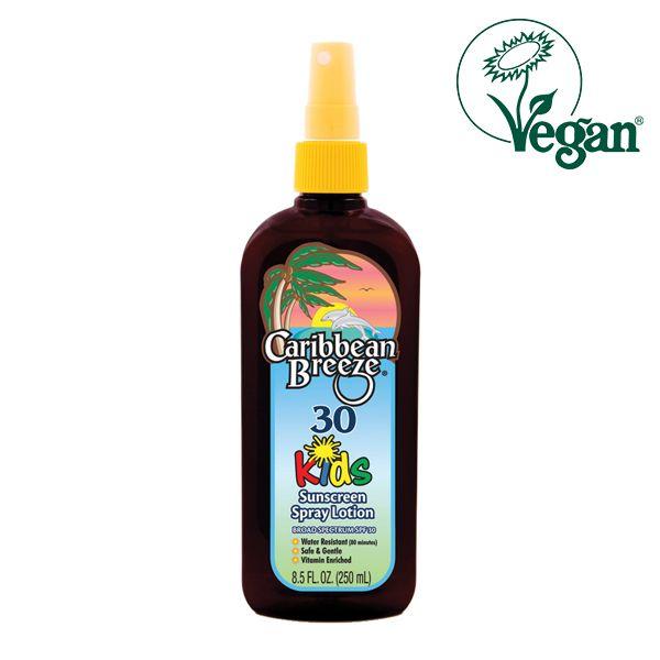 Caribbean Breeze SPF 30 Kids Sunscreen Spray Lotion 250ml