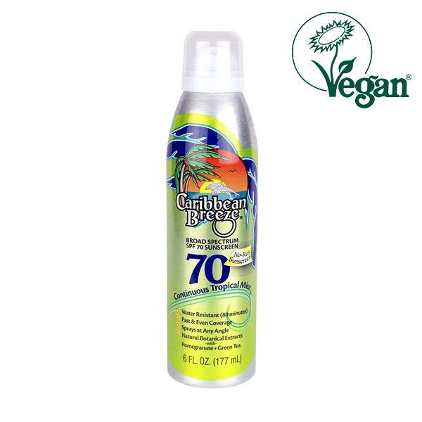 Caribbean Breeze SPF 70 Continuous Tropical Mist Sunscreen