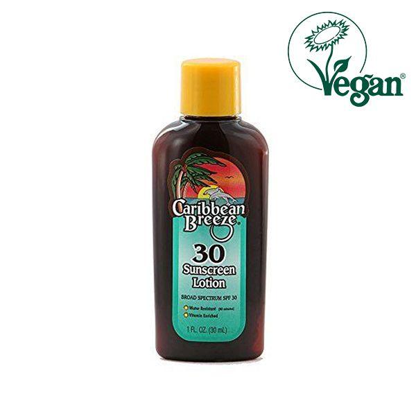 Caribbean Breeze Travel Size SPF 30 Sunscreen Lotion 30ml