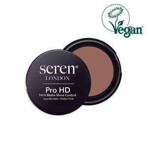 Seren London Vegan Pro HD 14 H Matte Shine Control Face Powder